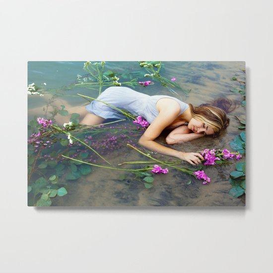 Ophelia 2 Metal Print