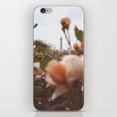 Flowers grow in Paris iPhone & iPod Skin
