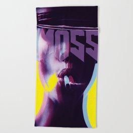 smokin' Moss: iconoclast series Beach Towel