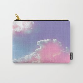 pink fluffy clouds Carry-All Pouch