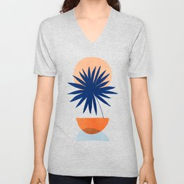 Islands in The Sun / Abstract Shapes Unisex V-Neck