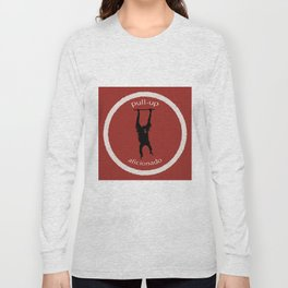 Pull-Up Aficionado Long Sleeve T-shirt
