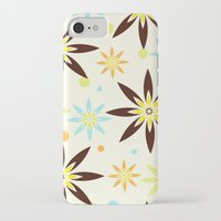70s iPhone & iPod Cases featuring 70s flowers by Keyweegirlie