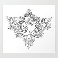 Kali Goddess Art Print