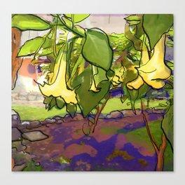 Healing Flowers Canvas Print