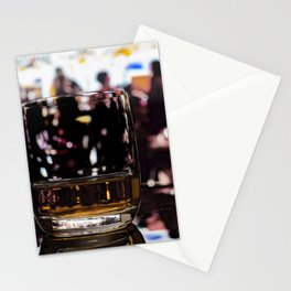Whiskey Neat Out Stationery Cards