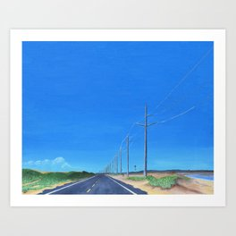 Highway 12 South Art Print