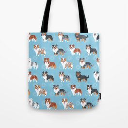 Aussie Shepherds Tote Bag
