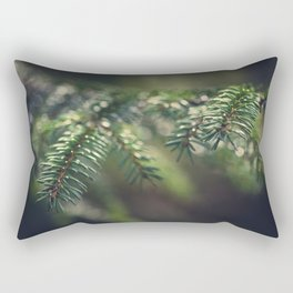 Spruce needles II Rectangular Pillow