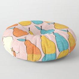 Pop Mod Pear Pink Floor Pillow