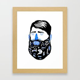 Animal Beard Framed Art Print