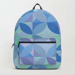 Shiny blue lagoon Backpack