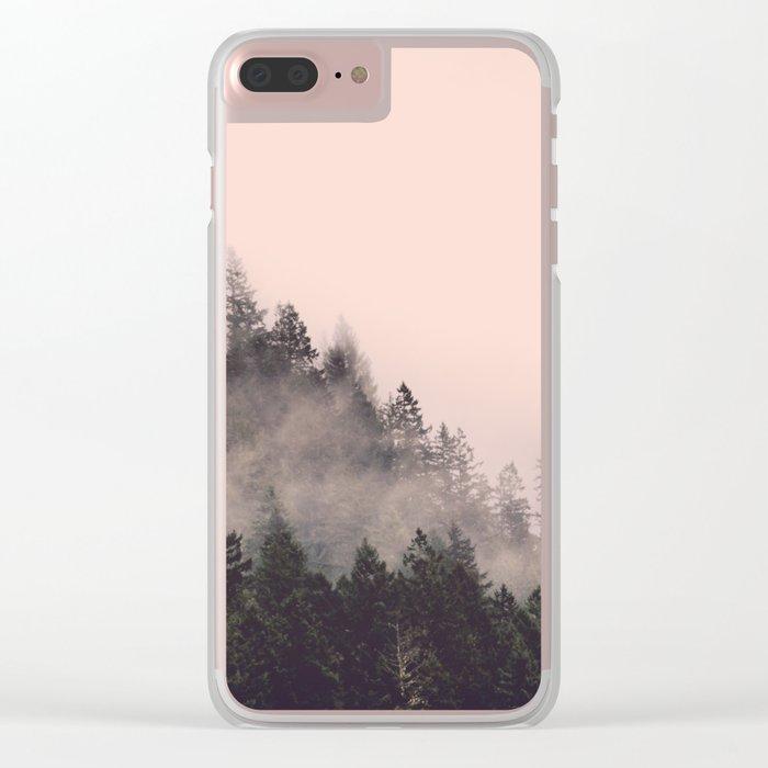 Summer Fog Clear iPhone Case