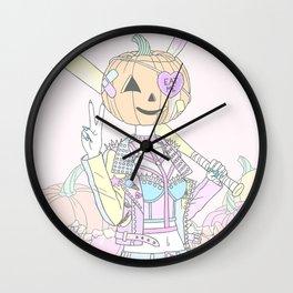 Pumpkin Smasher Wall Clock