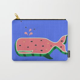 Watermelon whale Carry-All Pouch
