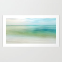 the beautiful sea Art Print