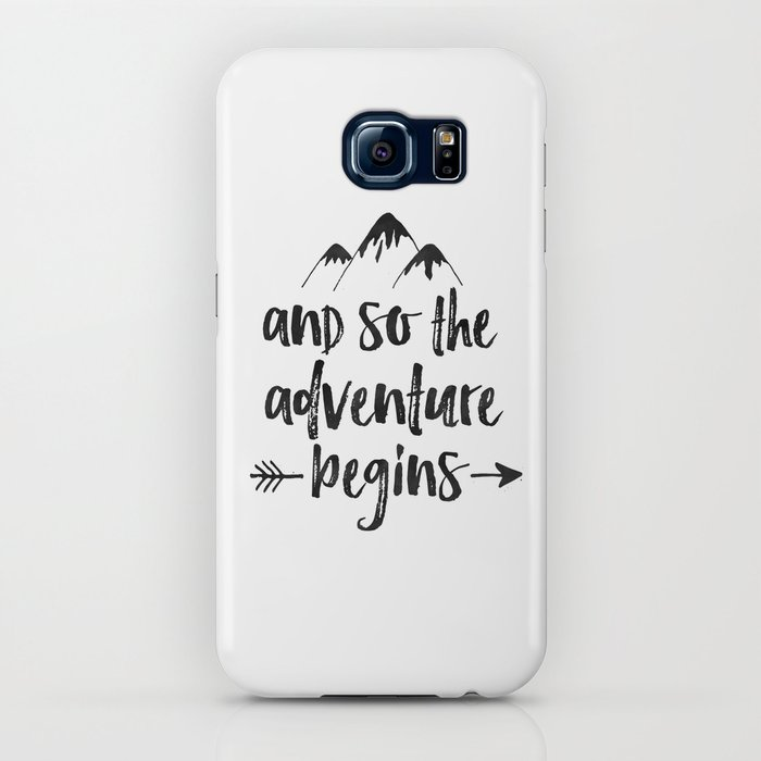 And So The Adventure Begins Sign,Adventure Awaits,Adventure Nursery,Kids Room Decor,Quote Posters,Pr iPhone Case