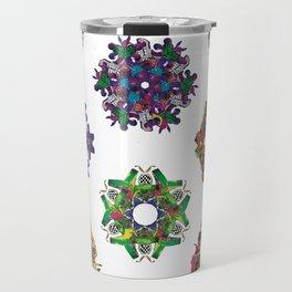 Swirls 0-9 Travel Mug