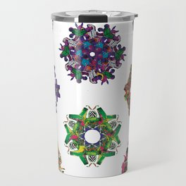 Swirls 0-9 Travel Mug