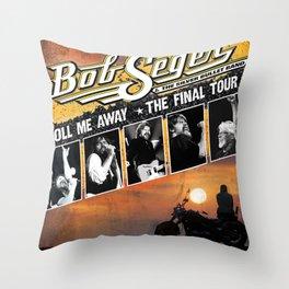 NEW BOB SEGER TOUR 2020 TERSENYUM#33 Throw Pillow