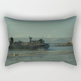 Hover Dog Rectangular Pillow