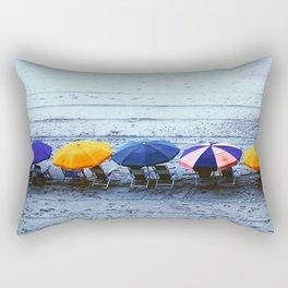 Myrtle Beach Umbrellas Rectangular Pillow