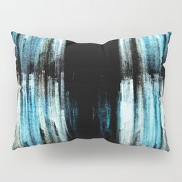 Blue Ice Pillow Sham