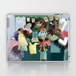 A day in the market Laptop & iPad Skin