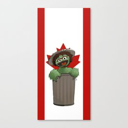 Tony the Grouch Canvas Print