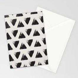 Triangle Pattern I Stationery Cards