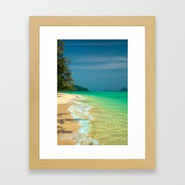 Holiday Destination Framed Art Print