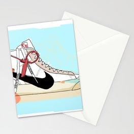 Off-White Blazer Stationery Cards