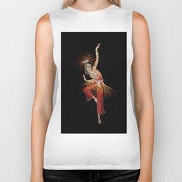 """""""Firebird Dancer"""" Art Deco Image Biker Tank"""