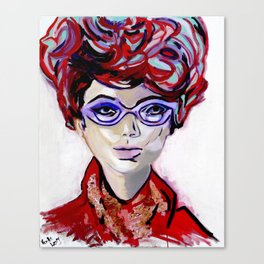 Judy by Varda Levy Canvas Print