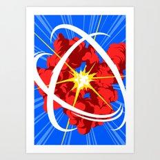 Neutron Art Print