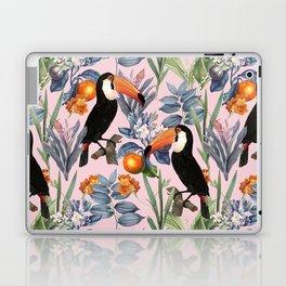 Tucan Garden #pattern #illustration Laptop & iPad Skin