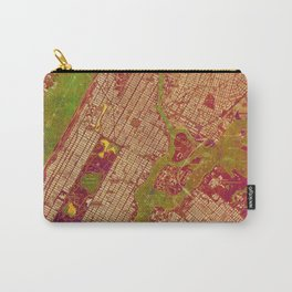 Central Park New York, old map, vintage old map, mapa antiguo, american map Carry-All Pouch