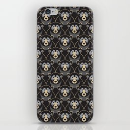 Little Black Bears iPhone Skin