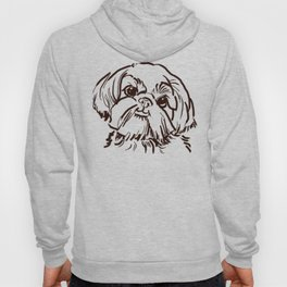 The sweet Shih Tzu dog love of my life! Hoody