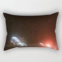 Abstracte Light Art in the Dark 18 Rectangular Pillow