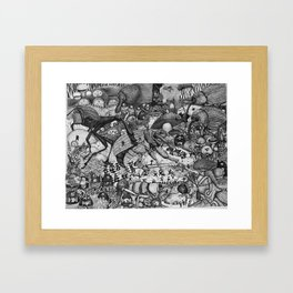 Insectopia Framed Art Print