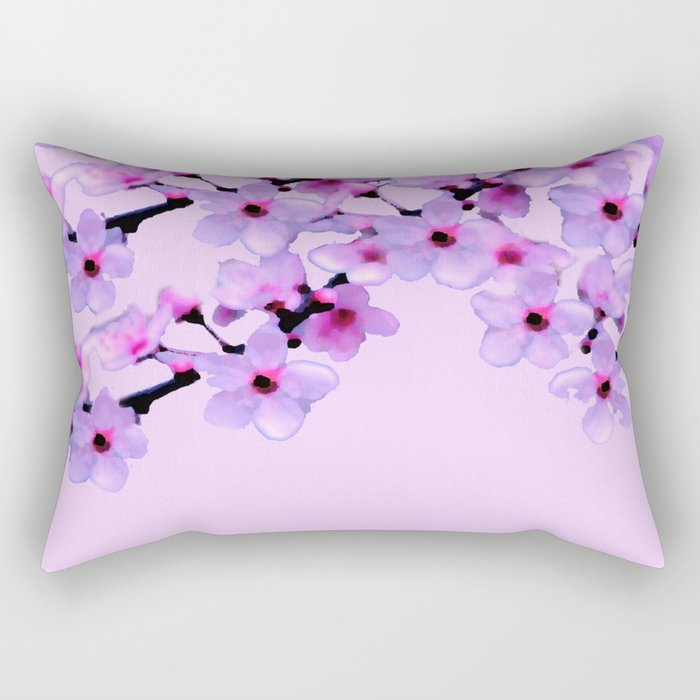 Cherry Blossom - In Memory of Mackenzie Rectangular Pillow