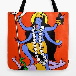 Kali Keith Haring style Tote Bag