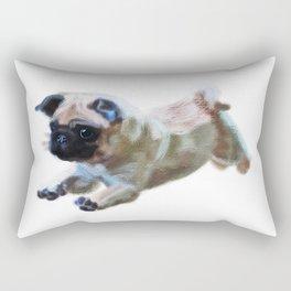 Pug in chalk  Rectangular Pillow