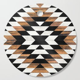 Urban Tribal Pattern No.13 - Aztec - Concrete and Wood Cutting Board
