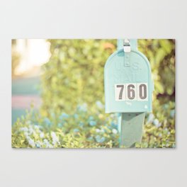 Sunday Mail Canvas Print