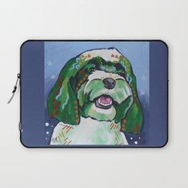 Havanese Pop Art Dog Portrait Laptop Sleeve