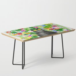Wild Flowers Coffee Table