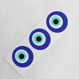 Blue Eye Yoga Mat