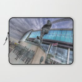 Bobby Moore Statue Wembley Stadium Laptop Sleeve